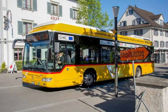 Mobilitästage 2014 Brennstoffzellenbus