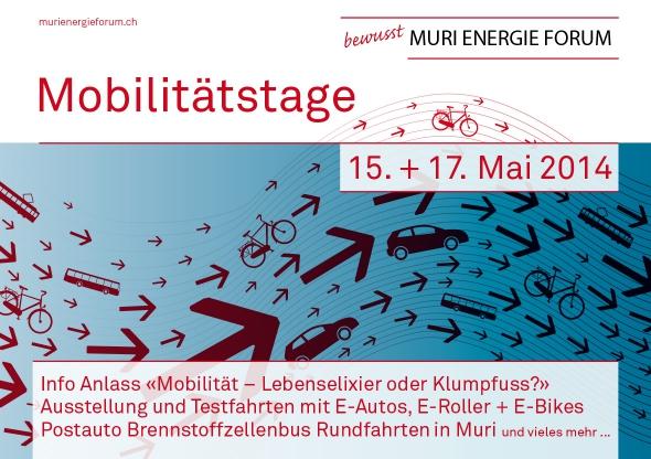 Mobilitästage 2014 Flyer